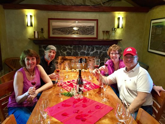 Kula, Hawaje: Our private tasting on Valentine's Day