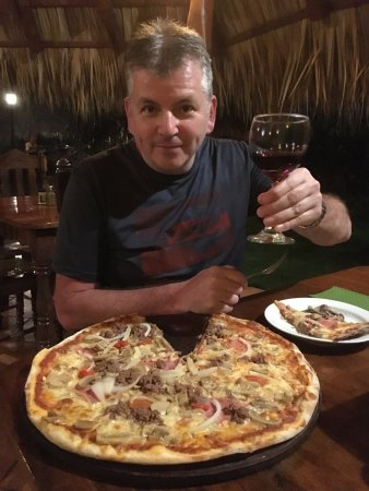 El Forno: La pizza,une pour deux!