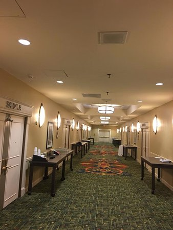 Dunwoody, GA: The hallway leading to the banquet rooms.