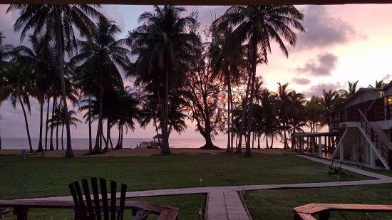 Pelican Beach - Dangriga: View from the room veranda