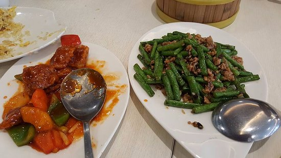 Crystal Jade: Sweet and sour pork and veggie