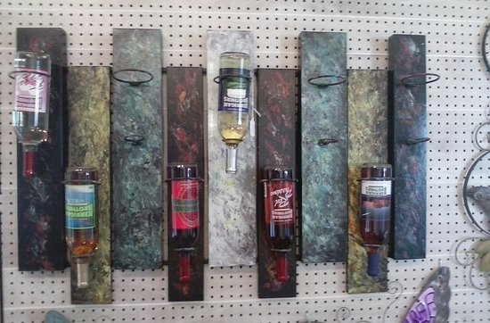 Freedom, WI: Just one of the many wine-art items available at Kerrigan Brothers.