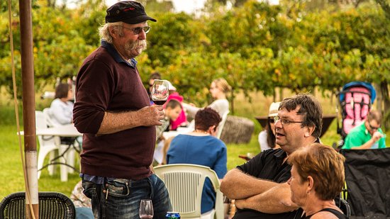 Barossa Valley, Australien: GIbbo enjoying one of our Sunday Funday events