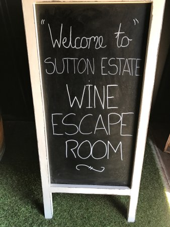 Pokolbin, Australia: Wine Escape Room Fun