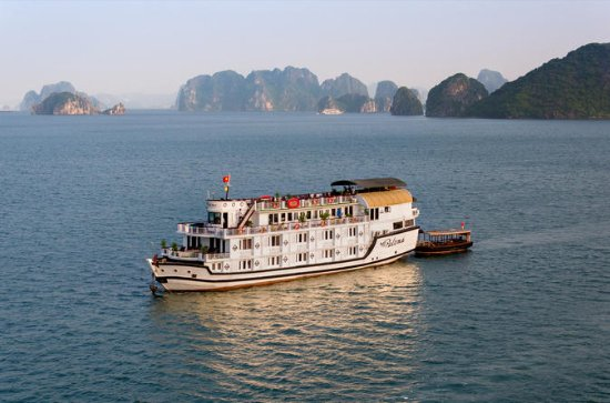 Overnight Halong Bay Cruise on the...