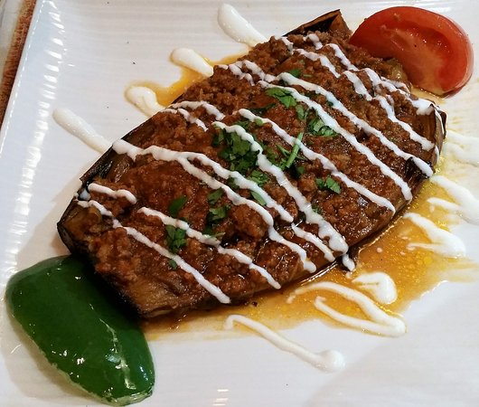 Clifton Park, Estado de Nueva York: Karniyarik (stuffed eggplant).