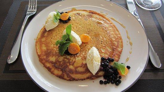 Malahat, Canada: Breakfast pancake!