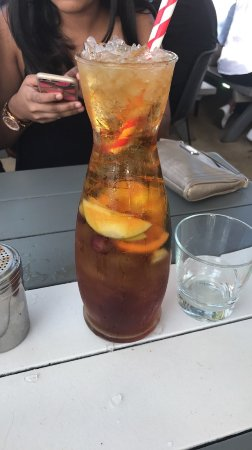 Watsons Bay, Australia: pimms cocktail jug