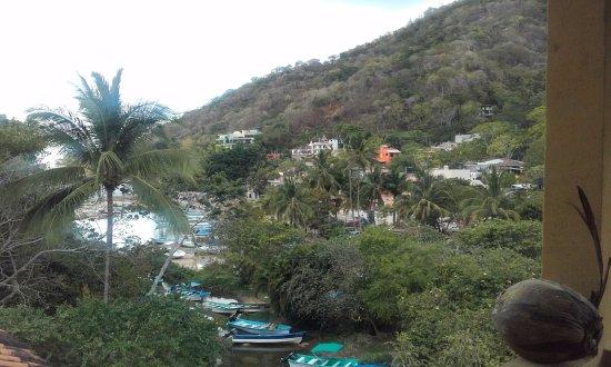 La Posada Pacifica: vue de la terrace