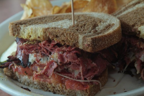 Exton, PA: Corned Beef Sandwich