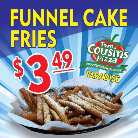 Paradise, PA: Funnel Cake