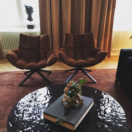 Lydmar Hotel: The suite and its views.