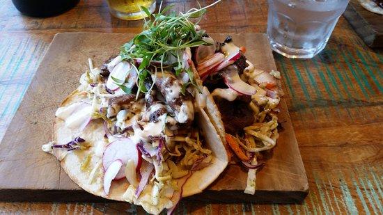 Orewa, New Zealand: Spicy beef tortilla