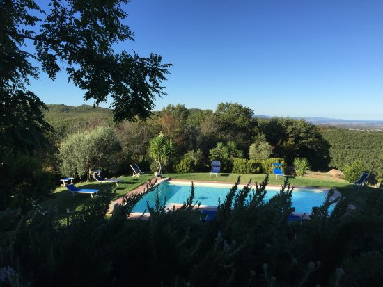 Montemerano, Italy: Piscina