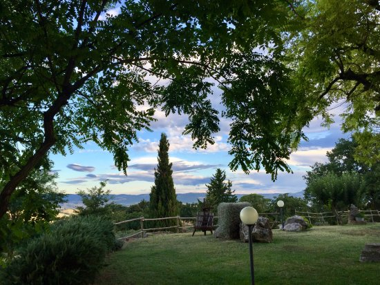 Montemerano, Italy: Panorama