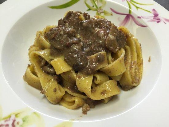 Montemerano, Italien: Piatti ristorante
