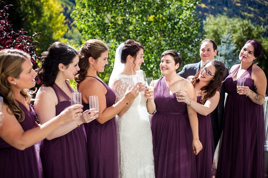 Telluride, CO: Professional Wedding Make Up Application, using air brush and Bobbi Brown.