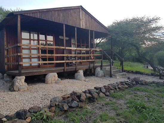 North-West Province, South Africa: OUR LOG CABIN
