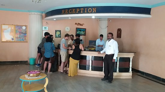 Kishkinda Heritage Resort: Reception