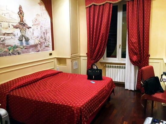 Al Viminale Hill Inn & Hotel: Comfy bed