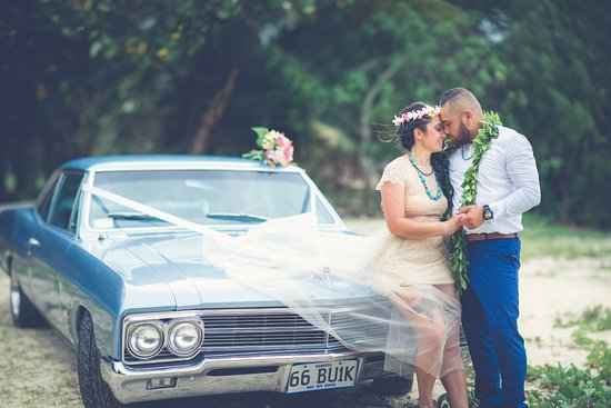 Titikaveka, Cook Islands: 66 Buick, Hired from the owners of Paradise Pitstop