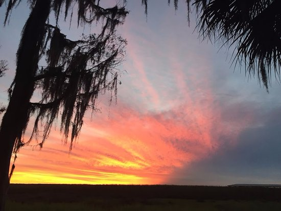 Kenansville, Floride : Incredible sunset to end the day
