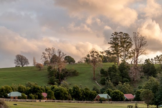 Branxholm, Australia: The five self-contained cottages look out to the river and peaceful rural views