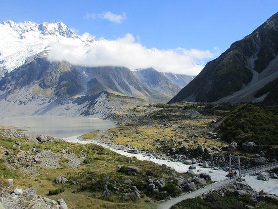 Aoraki Mount Cook National Park (Te Wahipounamu), نيوزيلندا: Just one of the beautiful scenes