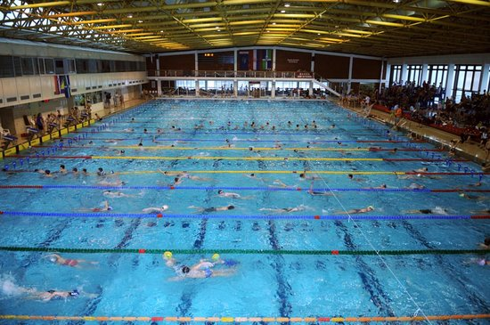 SRC Sisak - indoor Olympic swimming pool