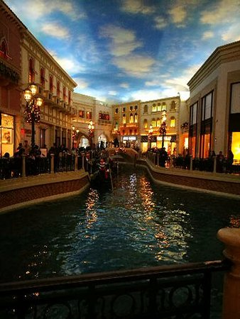 2fd5fae2a86d The Venetian shops - Picture of The Grand Canal Shoppes at The ...