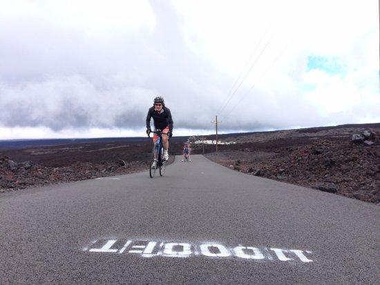 Waimea, HI: summiting mauna loa