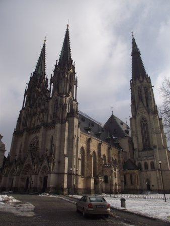 Olomouc, สาธารณรัฐเช็ก: Katedra św. Wacława.