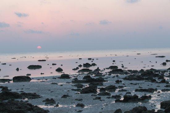 Dolphin Resort: Glorious sunrise colors