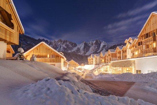 Gosau, Østrig: Hotel und Chalets