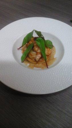 Saint-Didier-en-Velay, France: Fine tartelettede homard