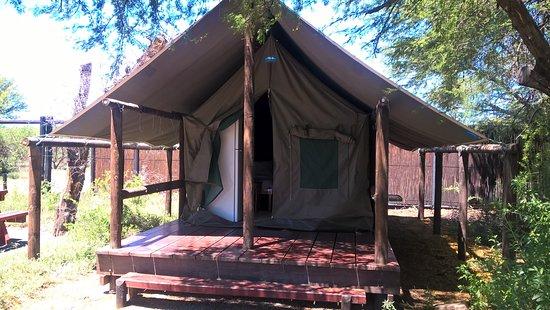 Graaff-Reinet, Sudáfrica: Safari Tent