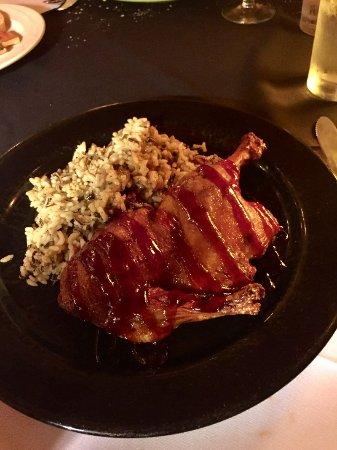 มิดเดิลเบอรี, เวอร์มอนต์: Raspberry Glazed Duck