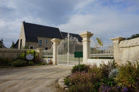 Isigny-sur-Mer, Γαλλία: Entrée des oiseaux de passage