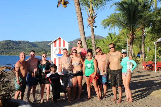 Playa Potrero, Kosta Rika: Latitude Surf Experience SUP Tour Ends with Cold Beers at CR Sailing Center