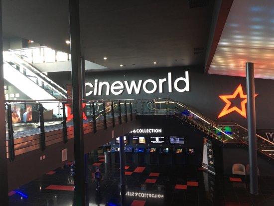 Admirable Cineworld Centertainment Foyer Area Picture Of Cineworld Short Hairstyles For Black Women Fulllsitofus