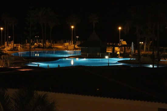 Iberostar Anthelia: night time from our room