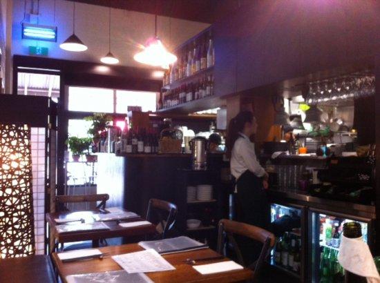 Balnarring, Australia: View to the serving area