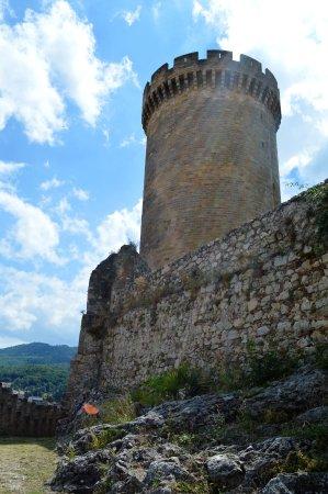 Foix, France: Vsita de la torre principal