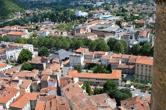 Foix, France: Vista de la ciudad
