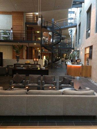 Hotel Skansen: Vinterhaven (overdækket)