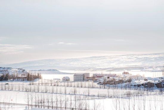 Guesthouse Egilsstadir: Winter wonderland