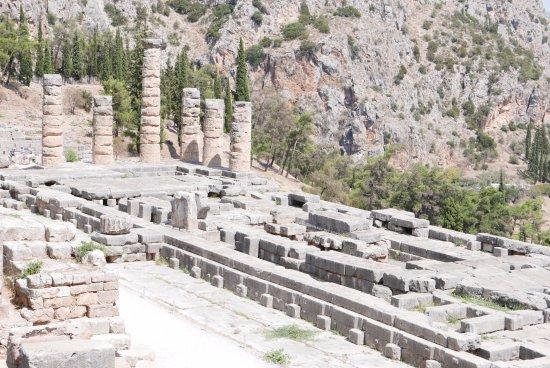 Ruines de Delphes : Świątynia Apollina
