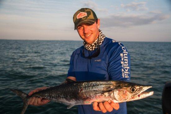 Cudjoe Key, Flórida: The kingfish bite has been rocking in Key West