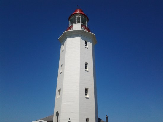 Overberg District, South Africa: Danger Point lighthouse