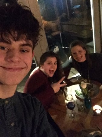 Oakham, UK: Loved our waiter- he was hilarious!